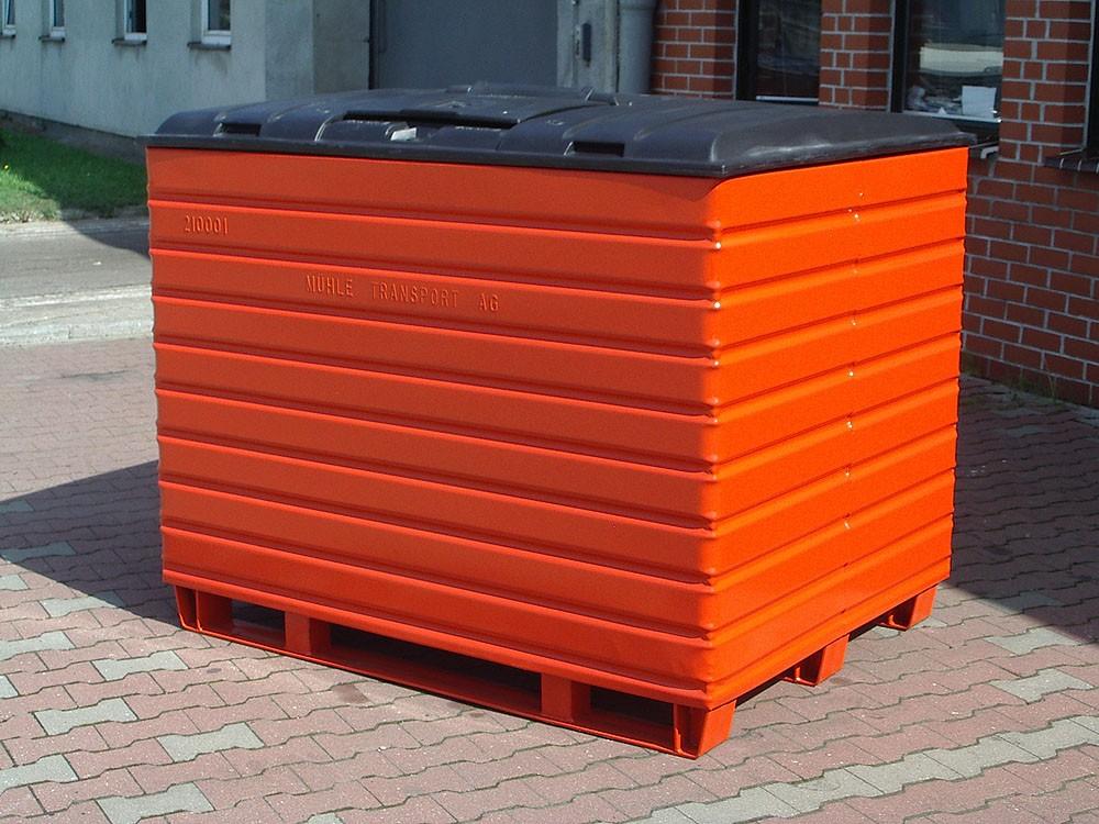 alustahl containertechnik stuhr bei bremen stapelboxen. Black Bedroom Furniture Sets. Home Design Ideas