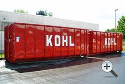 Normcontainer Spantenbauweise - Alustahl Containertechnik
