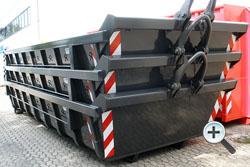 Stapelcontainer breit - Alustahl Containertechnik